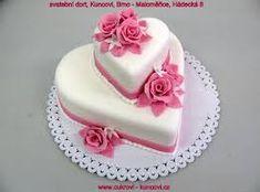 obrázky svatební dorty - Hledat Googlem Cake Decorating Frosting, Cake Decorating Designs, Cake Decorating Techniques, Engagement Cake Images, Engagement Cake Design, Sweet Birthday Cake, Birthday Cake For Husband, Funny Wedding Cakes, Amazing Wedding Cakes