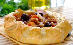 Puff Pastry Tarts with Red Onion & Feta recipe | Snacks and Sides recipes | Whats For Dinner