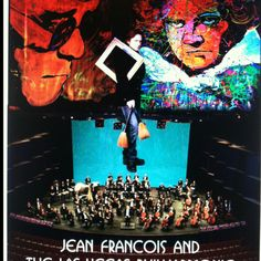 Jean Francois Detaille and the Las Vegas Philharmonic Playing his Extreme Art to a 75 piece Orchestra.