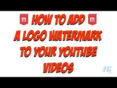 How to insert logo/watermark to video using Windows Movie Maker? MPE - YouTube
