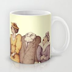 Distinguished Guests Mug by Steve Bonello - $15.00