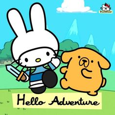 OMG @rebecca danaher - Hello Kitty Adventure Time