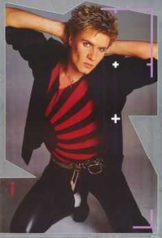 Simon le Bon 1984 Rare  Vintage by ShannonsCollection, $24.95. I had this very poster on my wall!