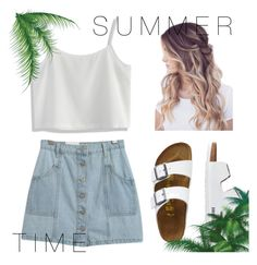 """""""Summer"""" by kacrebes on Polyvore featuring Chicnova Fashion, Chicwish and TravelSmith"""
