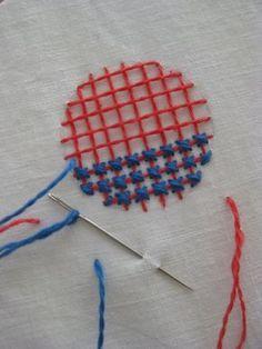 Brodösens blog - Swedish embroidery