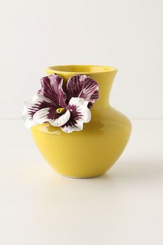 Pretty Pansy Vase - Anthropologie.com