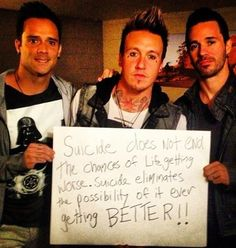 I have so much respect for these guys because they address the issues that no one else does because they try to avoid it. Thank you John Cooper and i love skillet