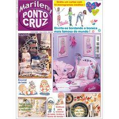 Marileny Ponto Cruz 03; cross stitch magazine, punto croce, punto de cruz, needlework, embroidery. Visit www.marileny.net