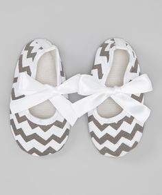 Gray Zigzag Mary Jane | Daily deals for moms, babies and kids