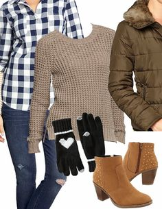 Cozy Winter Outfit | @Old Navy