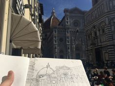 Fast sketch Italy