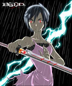 Otonashi Saya - Blood+