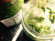 wild garlic (ramsons) pesto