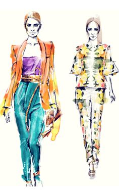 10 Fashion Illustration Blogs That Will Inspire You to Start Sketching. Definitely worth looking through.