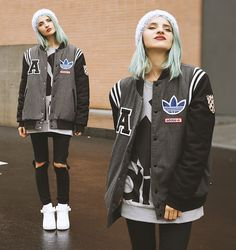 More looks by Gina Vadana: http://lb.nu/vintageena  #chic #sporty #street