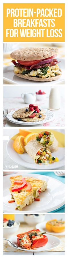 I don't like to think of it as weight loss, more like changing habits and feeling happy. But awesome breakfast ideas!