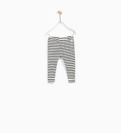 Image 1 of STRIPED LEGGINGS from Zara