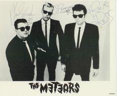 The meteors Psychobilly, Rock Music, My Music, Terror Movies, Teenage Werewolf, Rockn Roll, Progressive Rock, Vintage Horror, Bad Boys