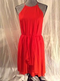 I'm all about this red Rebecca Taylor dress!!