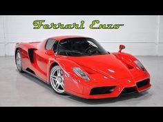 Видео обзор автомобиля Ferrari Enzo со всех сторон