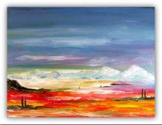 Acryl/Leinwand 30 cm x 40 cm x 1,5 cm Preis 180,- Euro  Toscana 3