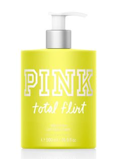 New PINK Total Flirt Body Lotion - Mercari: Anyone can buy & sell Victoria Secret Body Spray, Victoria Secret Lotion, Victoria Secret Fragrances, Victoria Secret Pink, Victoria's Secret, Pink Body, Body Mist, Smell Good, Bath And Body Works