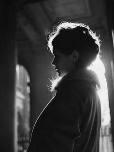 Annie Fargue de profil, 1958 Robert Doisneau