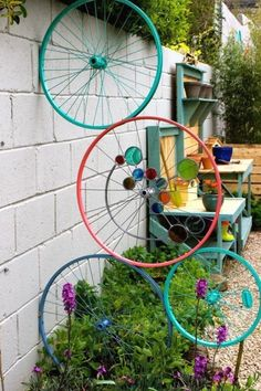 Garden Yard Ideas, Diy Garden, Garden Crafts, Spring Garden, Recycled Garden, Preschool Garden, Sensory Garden, Diy Art Projects, Garden Projects