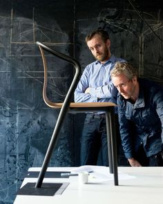 The Bouroullec brothers are optimizing their latest creation: the Belleville Chair.
