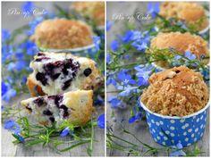 PIN - UP CAKE: Muffiny z jagodami i kruszonką Blue Berry Muffins, Blueberry, Pin Up, Breakfast, Food, Blueberry Crumb Muffins, Morning Coffee, Berry, Essen