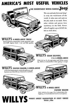 kaiser willys jeep vehicle color guide 1946