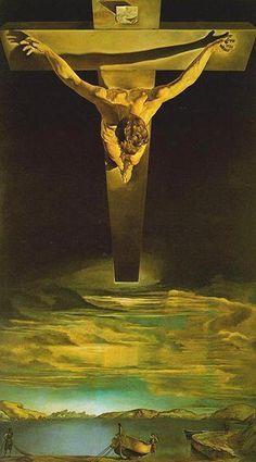 Cristo de San Juan de la cruz de dalí es un Plano de Picado