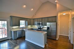 Open #kitchen of The Tanglewood #757. http://www.dongardner.com/house-plan/757/the-tanglewood. #OpenConcept #FloorPlan