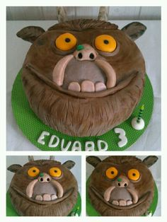 Image result for how to make a gruffalo cake