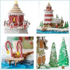 Coastal Gingerbread Lighthouse Ideas, Recipes
