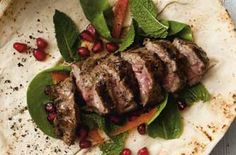 Chargrilled spiced lamb