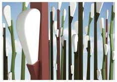 An outdoor lightning production based upon Salix Caprea tree presenting a visual art even with its photographs. A reason for preference in landscape lightning area with 3 different versions and sculptural form.