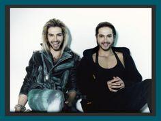 Bill & Tom Kaulitz - InTouch Magazine photos