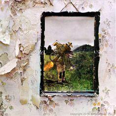 "Led Zeppelin IV - ZoSo - ""Stairway to Heaven"" ""Misty Mountain Hop"" - Jimmy Page - Atlantic 1971 - Vintage Gatefold Vinyl LP Record Album"