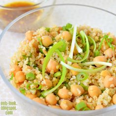 Chickpea and Bulgar salad