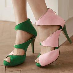 Party  Pu Dress-sandal