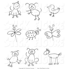 Exciting Learn To Draw Animals Ideas. Exquisite Learn To Draw Animals Ideas. Drawing For Kids, Art For Kids, Crafts For Kids, Arts And Crafts, Drawing Ideas, Drawing Guide, Drawing Step, Drawing Skills, Classe D'art