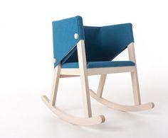 Ivetta rocking chair by Giancarlo Cutello
