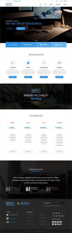 Hostly is a wonderful responsive #WordPress template for web #hosting and #domain sellers website download now➩ https://themeforest.net/item/hostly-hosting-domain-services-provider-wp/19223591?ref=Datasata