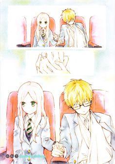 Hibi Chouchou, they are so cute together! Manga Love, Anime Love, Manga Shoujo Romance, Hibi Chouchou, Manga Art, Anime Couples, Art Sketches, Chibi, Butterfly