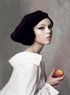 Coco Rocha, amazing styling