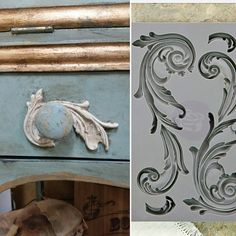Getting Woodworking tools Paint Furniture, Furniture Makeover, Upcycled Furniture, Refurbished Furniture, Orchard Design, Wood Appliques, Plaster Art, Chalk Paint Colors, Iron Orchid Designs