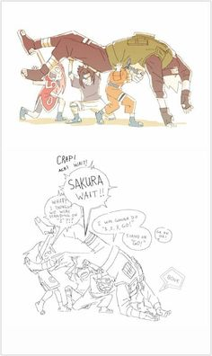 Equipo 7 - General: While trying Storytelling a great anime Anime Naruto, Naruto And Sasuke, Kakashi Sensei, Naruto Sasuke Sakura, Naruto Cute, Naruto Shippuden Anime, Naruto Fan Art, Naruto Team 7, Funny Naruto Memes