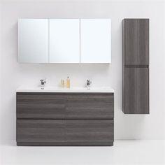 Golden Elite BR60GO Brunswick 60-in Bathroom Vanity Set