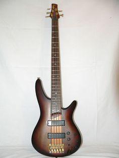Ibanez Btb 405 Qm 5 String Bass Basses Pinterest